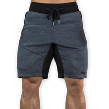 Load image into Gallery viewer, Mens Slim Fit Cotton Shorts Made For Daily Workout - Dark Gray Color - esstey