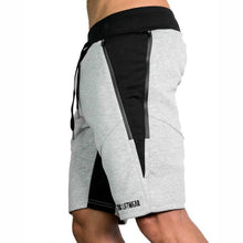 Load image into Gallery viewer, Mens Slim Fit Cotton Shorts Made For Daily Workout - Light Gray Color - esstey