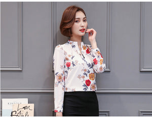 Chiffon V-Neck Shirts | New Arrival 2018 - esstey
