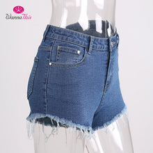 Load image into Gallery viewer, Sexy Ripped Denim Shorts | Summer Collection 2018 - esstey