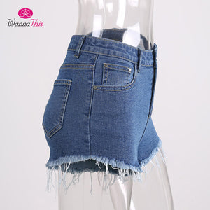 Sexy Ripped Denim Shorts | Summer Collection 2018 - esstey