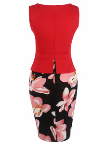 Floral Pencil Dress | New Arrival 2018 - esstey