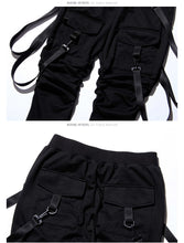 Load image into Gallery viewer, 'Classic Suspender' Jogger Pants - esstey