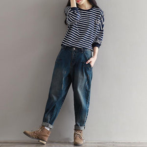 Casual Vintage Loose Trousers | New Arrival 2018 - esstey