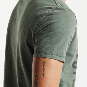 Men Casual T Shirt With Letter Pattern in Green | Pure Cotton Letter Fashion Tops For Him - esstey