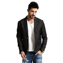 Load image into Gallery viewer, Men Casual Thin Blazer | Designer Men Fashion 100% Pure Cotton - esstey
