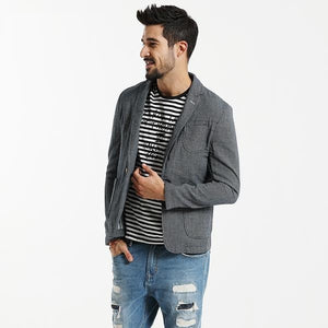 Casual Blazers For Men | Fashion Coats 100% Pure Cotton - esstey