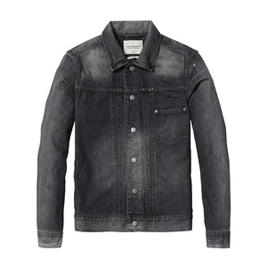 New 2018 Denim Jacket For Men | Men Fashion Dark Wash 100% Cotton Vintage Jackets - esstey
