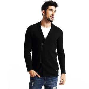 Men Cardigan - Men fashionist zipper - esstey