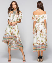 Load image into Gallery viewer, Boho Chic Floral Summer Dress | New Arrival 2018 - esstey