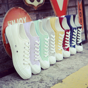 White Canvas Shoes for Girls | New Arrival 2018 - esstey