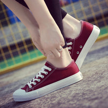 Load image into Gallery viewer, White Canvas Shoes for Girls | New Arrival 2018 - esstey