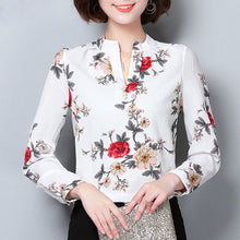 Load image into Gallery viewer, Chiffon V-Neck Shirts | New Arrival 2018 - esstey
