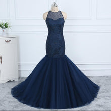 Load image into Gallery viewer, Halter Neck Mermaid Dress | New Arrival 2018 - esstey