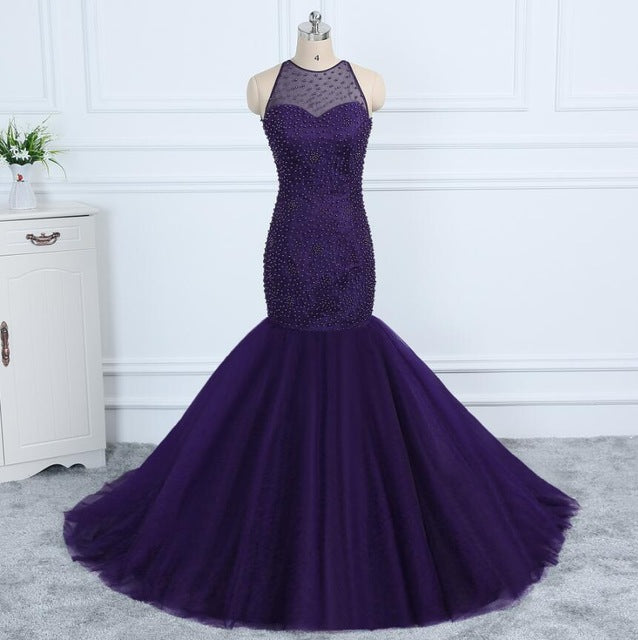 Halter Neck Mermaid Dress | New Arrival 2018 - esstey