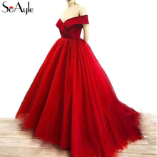 Load image into Gallery viewer, Off Shoulder Ball Gown | New Arrival 2018 - esstey