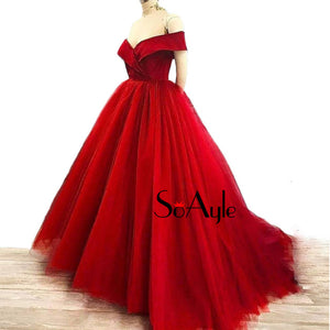 Off Shoulder Ball Gown | New Arrival 2018 - esstey