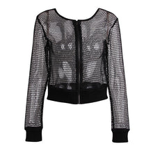 Load image into Gallery viewer, Casual Fishnet Blouse | New Arrival 2018 - esstey