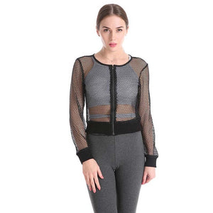 Casual Fishnet Blouse | New Arrival 2018 - esstey