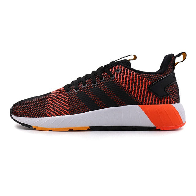 Adidas QUESTAR Men's Skateboarding Shoes Sneakers - Orange & Red - esstey