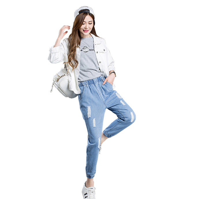 Students Loose Ankle-Length Pants | Harem Pants for Girls - esstey