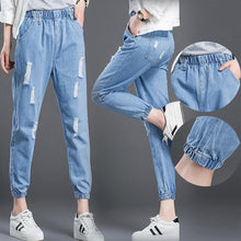 Load image into Gallery viewer, Students Loose Ankle-Length Pants | Harem Pants for Girls - esstey