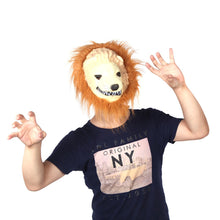 Load image into Gallery viewer, Halloween Great Lion King Mask of Terror Animal Dress Up Simulation Funny Costume - esstey