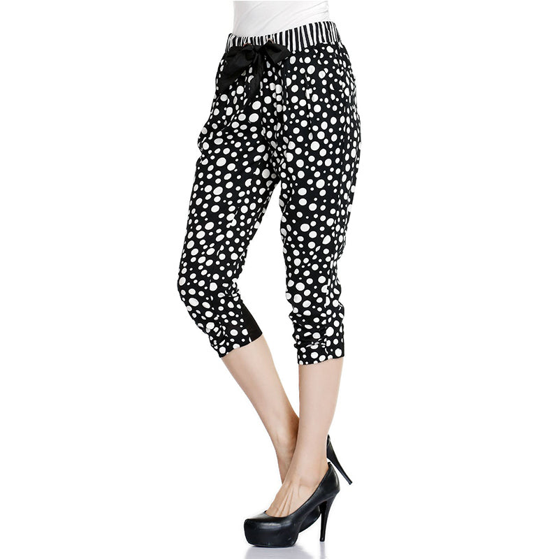Elegant Dotted Print Harem Pants | Summer collection 2018 - esstey