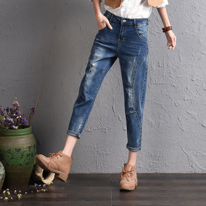 Cowboy Ripped Jeans | New Arrival 2018 - esstey
