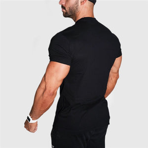 Men Bodybuilding motivational workout tee shirts - Fitness gym t-shirt - esstey