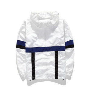 'Don't Be Lazy' Windbreaker - esstey
