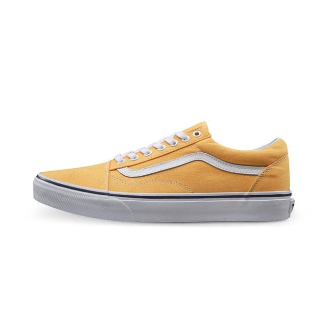 Vans Old Skool Yellow Sneakers Low-top Trainers - Unisex - esstey