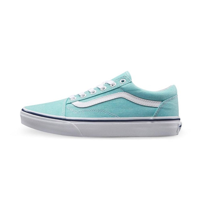 Vans Old Skool Blue Sneakers Low-top Trainers - Unisex - esstey