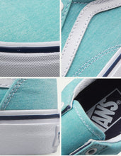 Load image into Gallery viewer, Vans Old Skool Blue Sneakers Low-top Trainers - Unisex - esstey