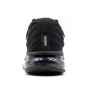 Men Nike Air Max Breathable Running Shoes - Black - esstey