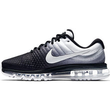 Load image into Gallery viewer, Men Nike Air Max Breathable Running Shoes - Multi Color White & Black - esstey