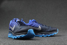 Load image into Gallery viewer, Men Nike Air Max Breathable Running Shoes - Multi Tone Black & Blue - esstey