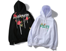 Load image into Gallery viewer, 'Yoff' Rose Hoodie - esstey