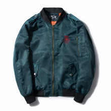Load image into Gallery viewer, 'Red Snake' Bomber Jacket - esstey