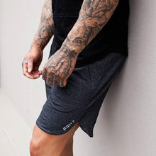 Load image into Gallery viewer, Men Gym Cotton Shorts - Dark Gray Color - esstey
