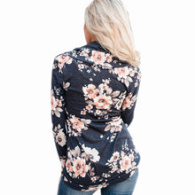 Load image into Gallery viewer, Women's TurtleNeck Floral Print Winter Pullover - esstey