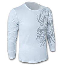 Load image into Gallery viewer, Men's Dragon Tattoo Printed T-Shirts - Cotton Crew Neck Casual Tees - esstey