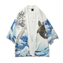 Load image into Gallery viewer, 'Blue Ocean' Kimono - esstey