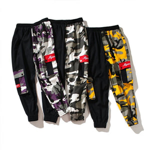 'Camo Sector' Joggers - esstey