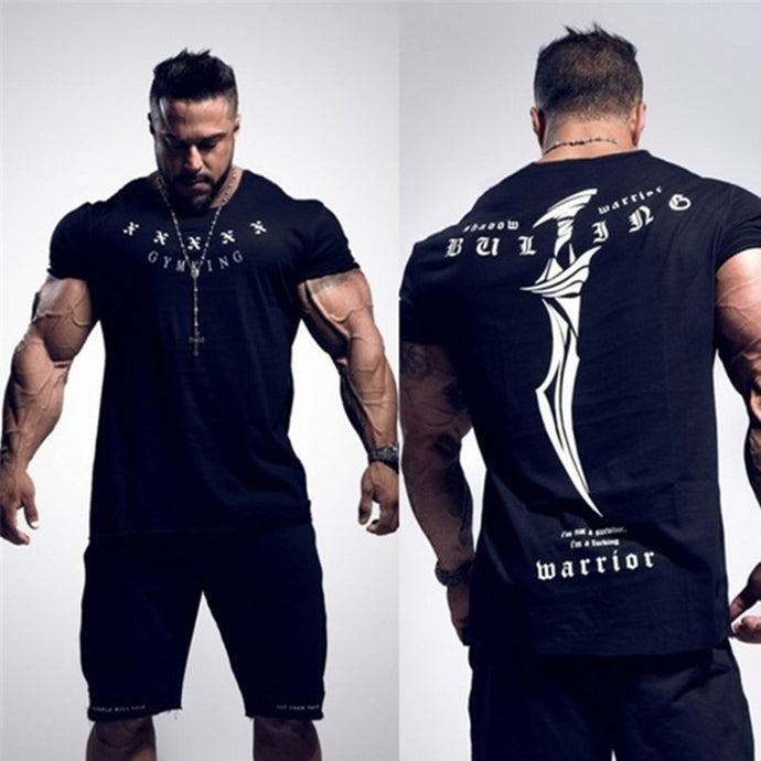 Mens Gym Workout t-shirt for your intense training - esstey