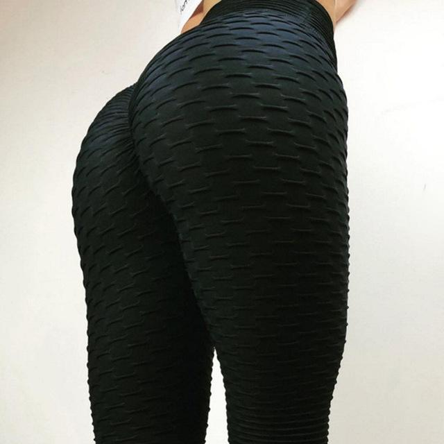 Women Push Up Leggings High Waist Classic Trousers - esstey