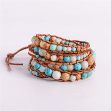 Load image into Gallery viewer, Amazonite Multi Layered Bracelet For Girl's - esstey