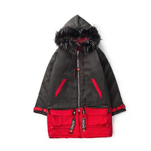 Load image into Gallery viewer, 'Shadow Snow' Hooded Coat - esstey