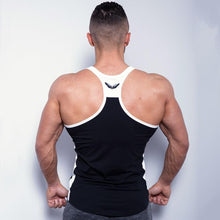 Load image into Gallery viewer, Mens bodybuilding Patchwork Tank Top For Gym Fitness workout - esstey