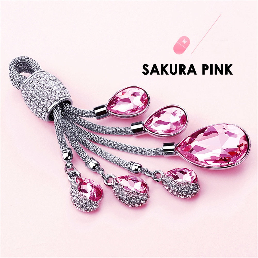 Beautiful Crystal Car Key-Chain for Girls - esstey